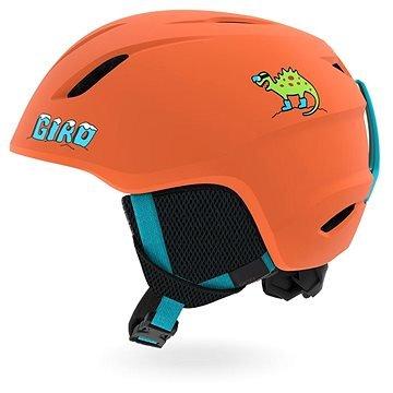 Oranžová dětská lyžařská helma Giro - velikost 52-55,5 cm