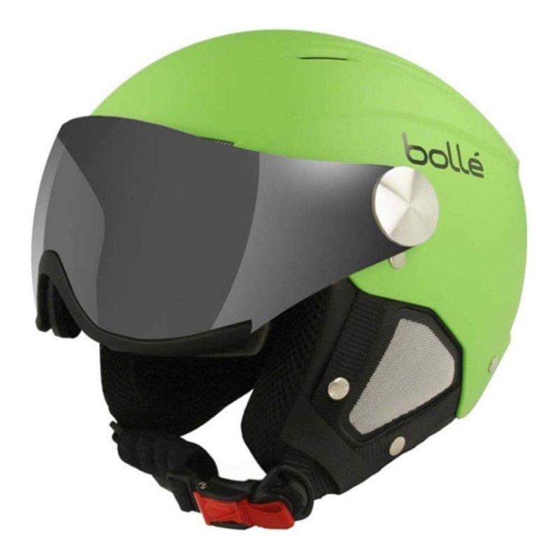 Zelená pánská lyžařská helma Bollé