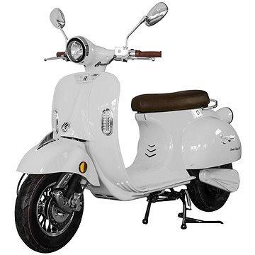 Bílý elektromotocykl Century, Racceway