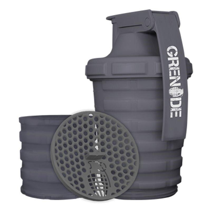 Šedý shaker Grenade - objem 600 ml
