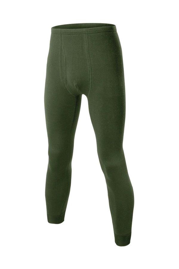 Zelené pánské termo kalhoty Lasting