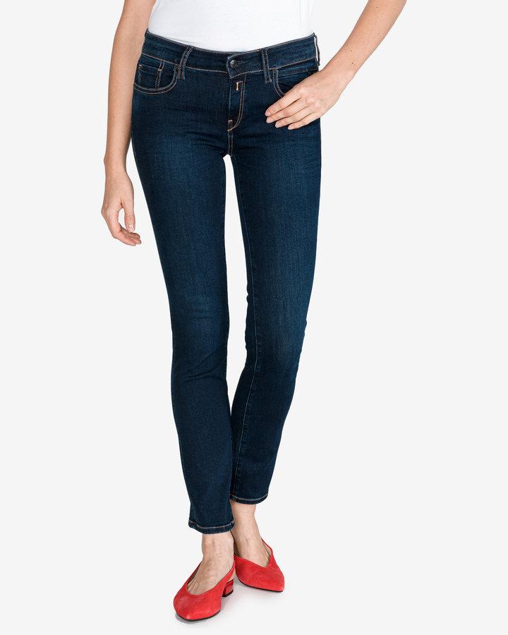 Modré dámské džíny Replay - velikost 24