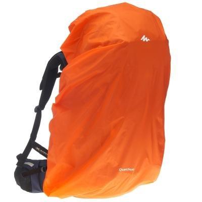 Oranžová pláštěnka na batoh Forclaz - objem 55-80 l