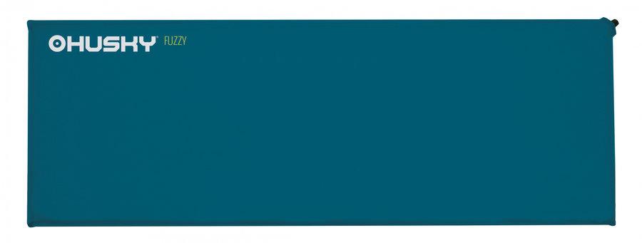 Modrá samonafukovací karimatka Husky - tloušťka 3,5 cm