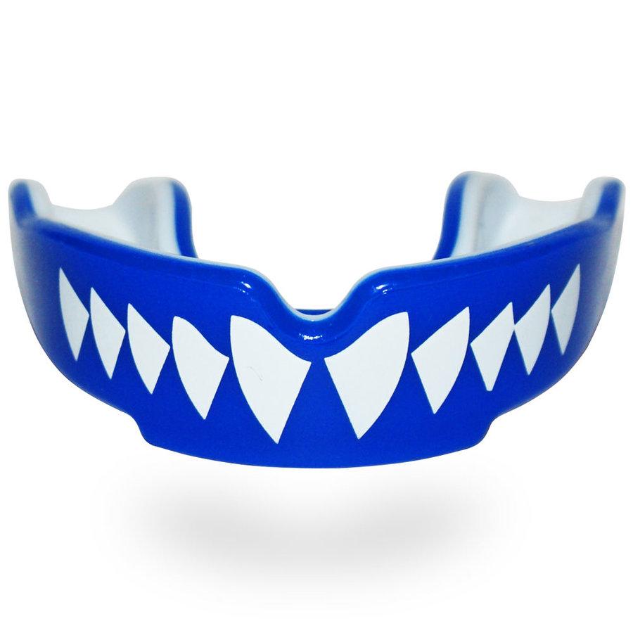 Modrý chránič na zuby na bojové sporty SAFEJAWZ