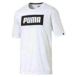 Bílé pánské tričko Puma - velikost S