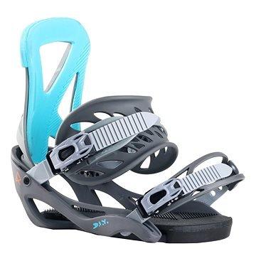 Modré vázání na snowboard ROBLA - velikost L