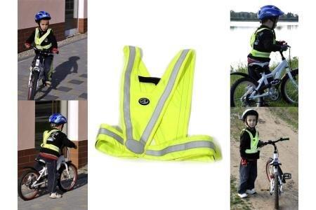 Reflexní vesta - Author Vesta reflexní dětská A-O44 reflexní žlutá