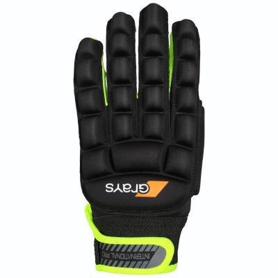 Černé rukavice na pozemní hokej GRAYS