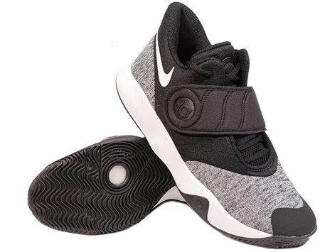 Bílo-černé pánské basketbalové boty KD TREY 5 VI, Nike
