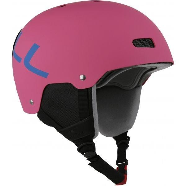 Růžová dámská lyžařská helma O'Neill - velikost 54-58 cm