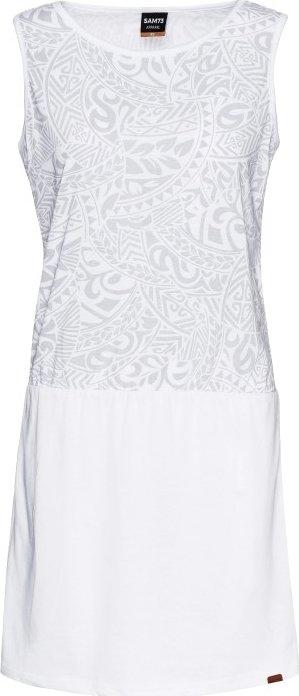 Bílé dámské šaty Sam 73 - velikost XL