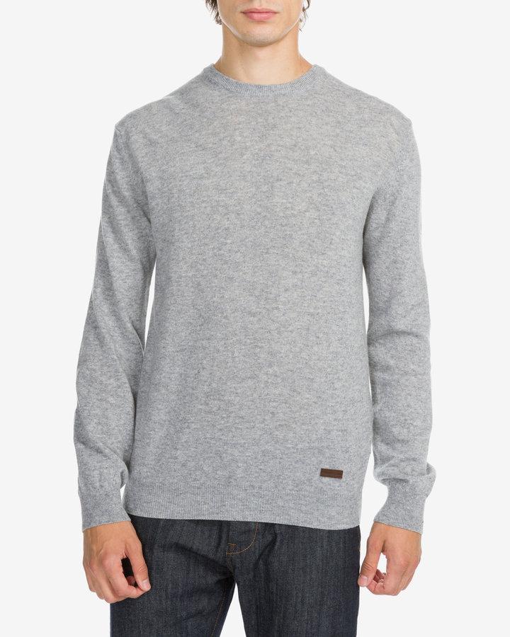Šedý pánský svetr Trussardi Jeans - velikost XL