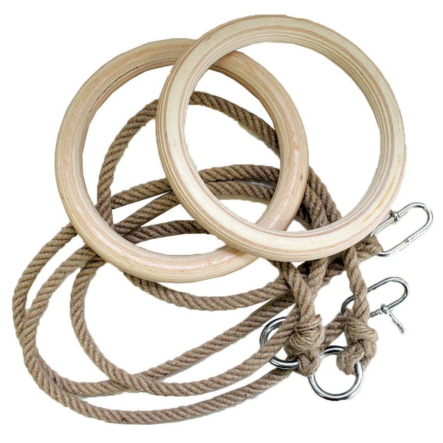 Gymnastický kruh - Gymnastické kruhy Spartan 24 cm