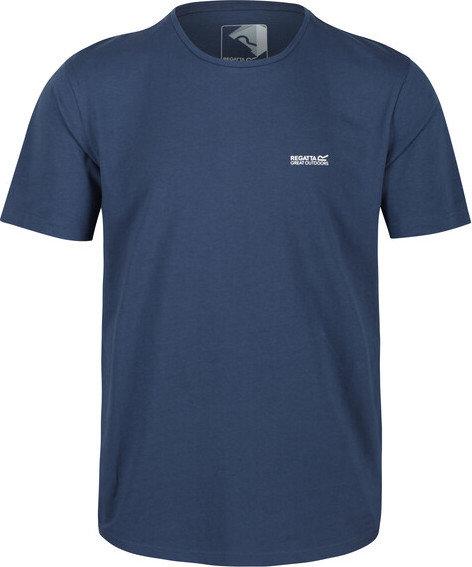 Modré pánské tričko s krátkým rukávem Regatta - velikost XL