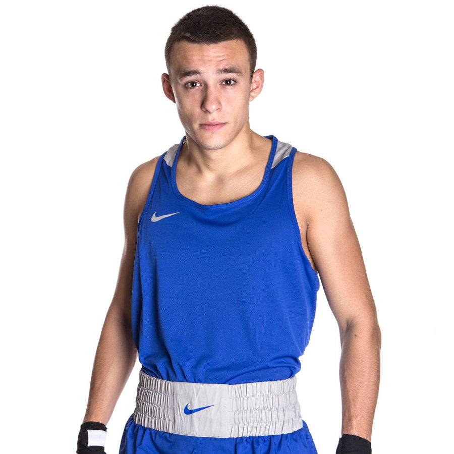 Modré boxerské tílko Nike - velikost XL