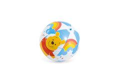"""Různobarevný nafukovací plážový míč """"Medvídek PÚ"""", INTEX"""