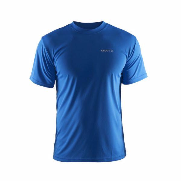 Modré pánské funkční tričko s krátkým rukávem Craft
