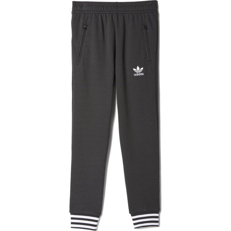 Černé dětské kalhoty Adidas - velikost 116