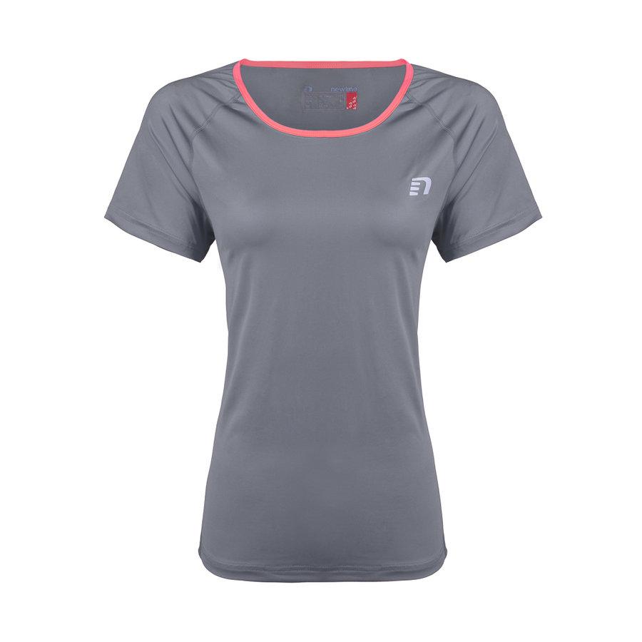 Šedé běžecké tričko Imotion Tee, Newline - velikost XS