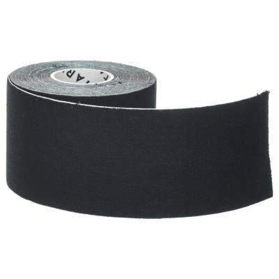 Černá tejpovací páska Tarmak - délka 5 m a šířka 5 cm