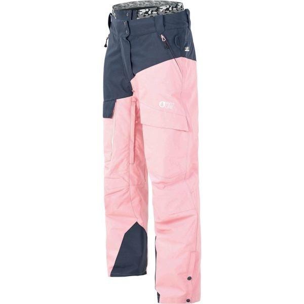 Modro-růžové zimní dámské kalhoty Picture - velikost L