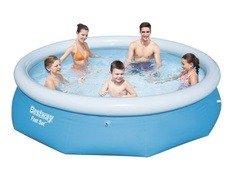 Nadzemní nafukovací kruhový bazén Bestway - průměr 305 cm a výška 76 cm