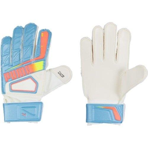 Bílo-modré brankářské fotbalové rukavice Evospeed 5.2, Puma - velikost 11