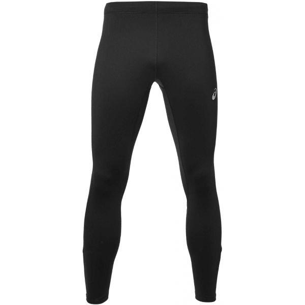 Černé zimní pánské běžecké kalhoty Asics