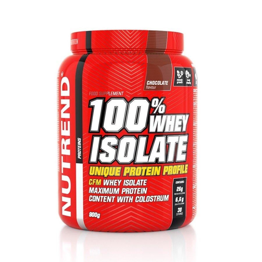 Syrovátkový protein 100% WHEY Isolate, Nutrend - 900 g