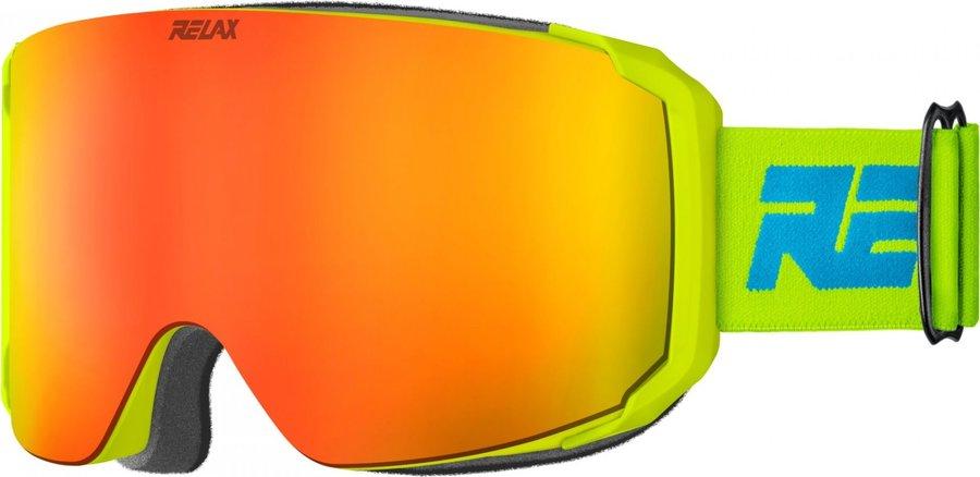 Žluté lyžařské brýle Relax