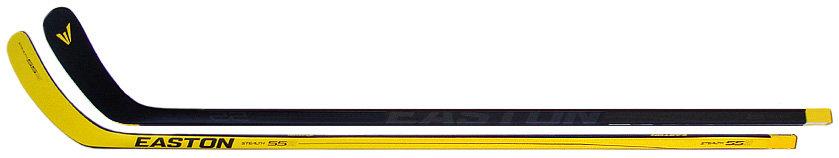 Hokejka - Kompozitová hůl Easton Stealth 55S II Senior Provedení: pravá Hall (Sakic) - flex 85