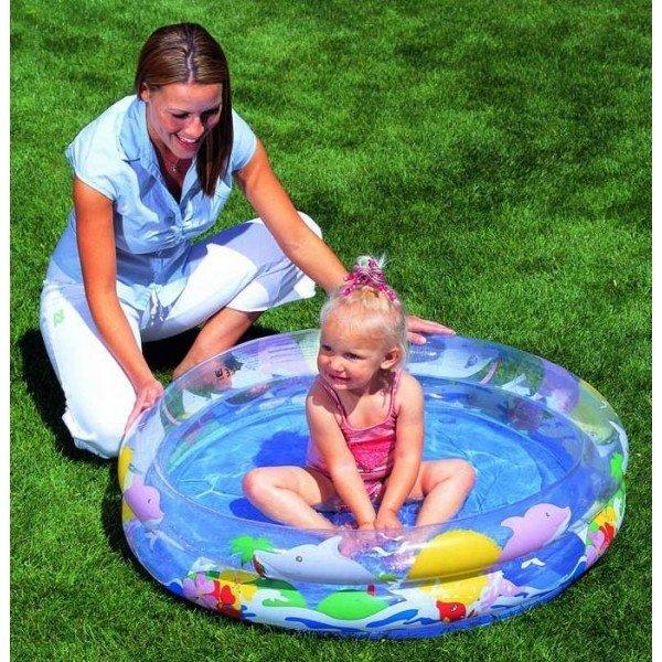 Nadzemní kruhový bazén Bestway - průměr 91 cm a výška 20 cm