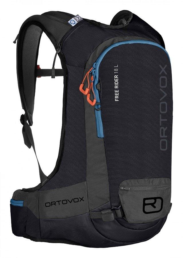 Černý skialpový batoh Ortovox - objem 18 l