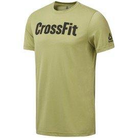 Zelené pánské tričko s krátkým rukávem Reebok