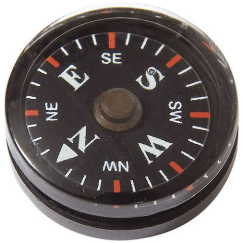 Kompas - Kompas BUTTON malý MIL-COM 2 cm