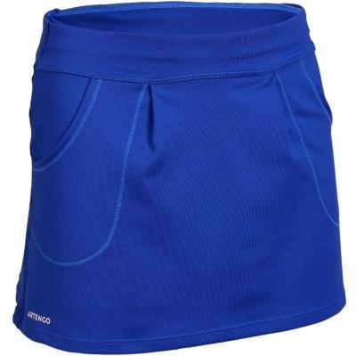 Modrá dámská tenisová sukně Artengo - velikost 116
