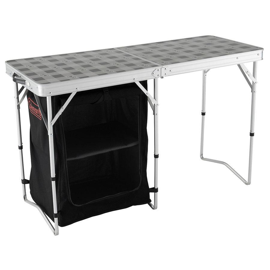 Rozkládací kempingový stůl Coleman - délka 119 cm, šířka 48 cm a výška 74 cm