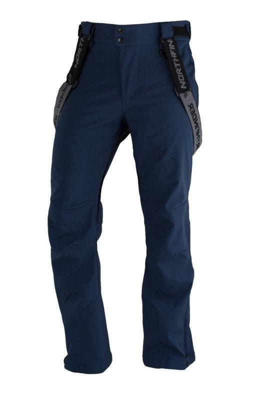 Modré pánské lyžařské kalhoty NorthFinder - velikost XL