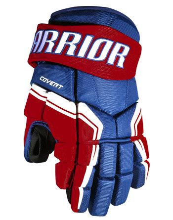 Hokejové rukavice - senior Covert QRE3, Warrior