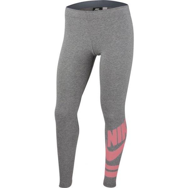 Šedé dívčí legíny Nike - velikost M
