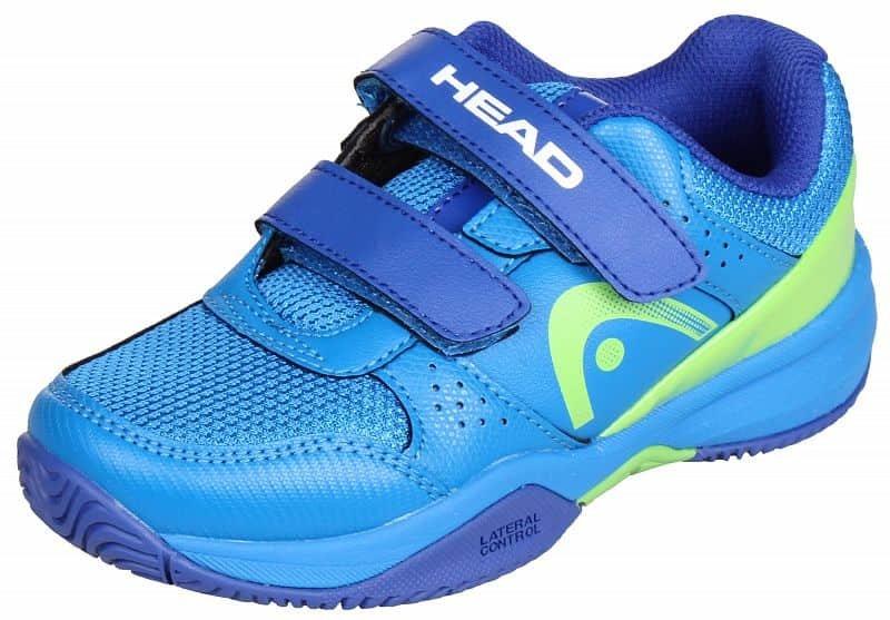 Modrá dětská tenisová obuv Sprint Velcro 2.0, Head - velikost 27,5 EU