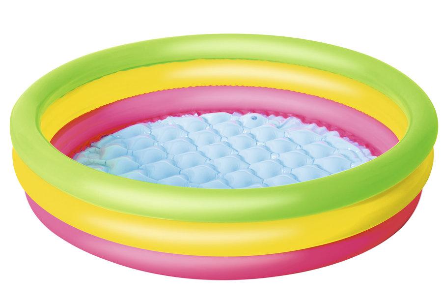 Dětský nafukovací nadzemní kruhový bazén Bestway - průměr 102 cm a výška 25 cm