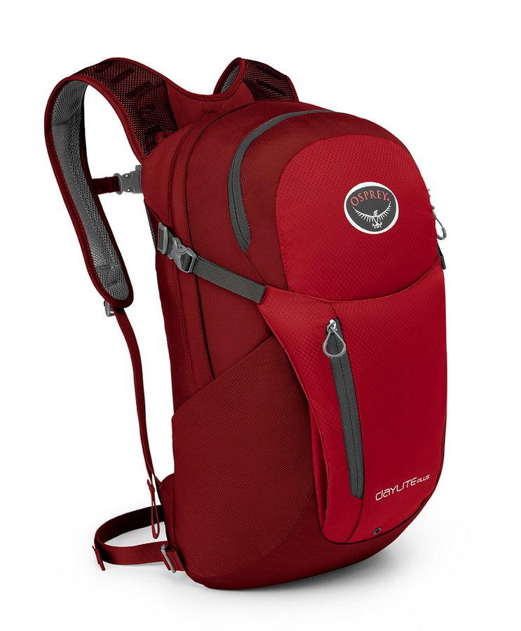 Červený batoh Osprey - objem 20 l