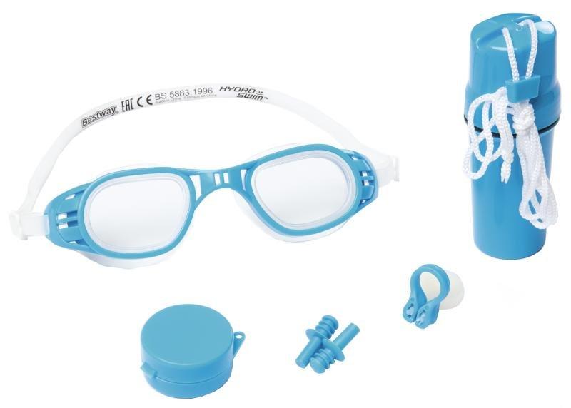 """Dětská plavecká sada Bestway """"brýle, klapka, ucpávky, krabička"""""""