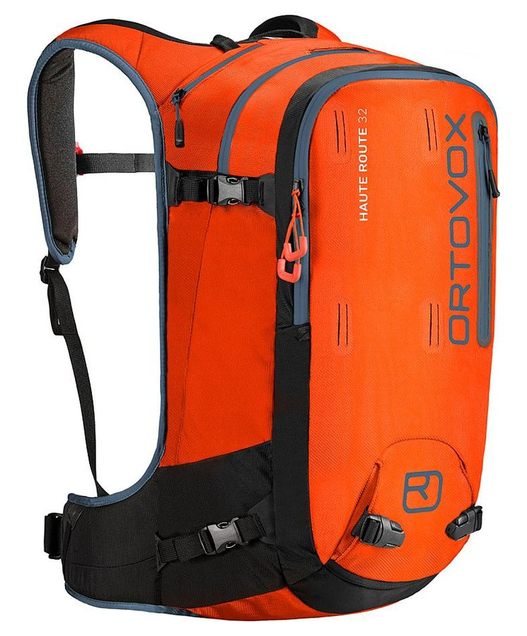 Oranžový skialpový batoh Ortovox - objem 32 l