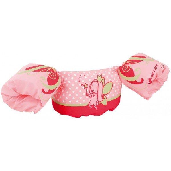 Plavecké rukávky - Sevylor PUDDLE JUMPER DELUXE růžová - Vestička s rukávky