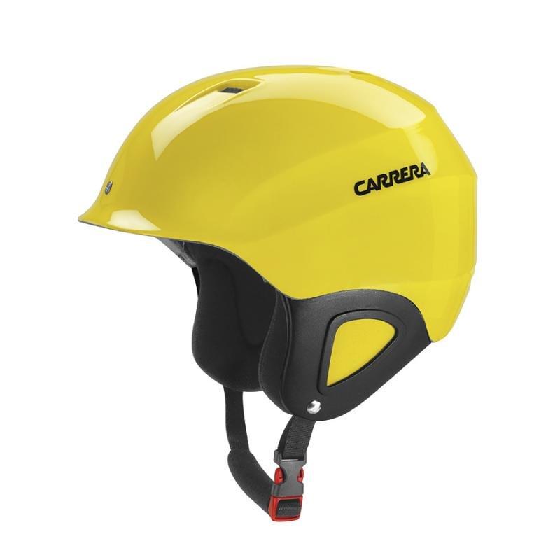 Žlutá dětská lyžařská helma Carrera - velikost 53-57 cm