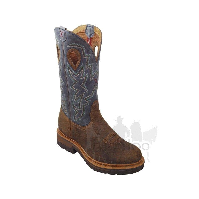 Hnědé pánské jezdecké boty Twisted Boots