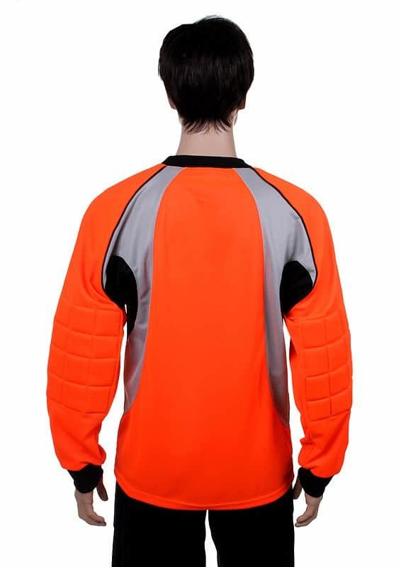 Oranžový dětský brankářský fotbalový dres GO-3, Merco - velikost 140